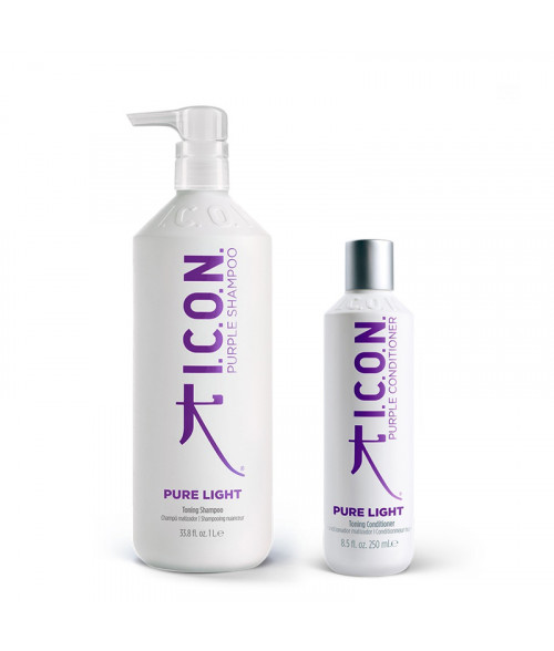 Pack Regidemy Pure Light: Shampoo 1 litro + Conditioner 250 ml